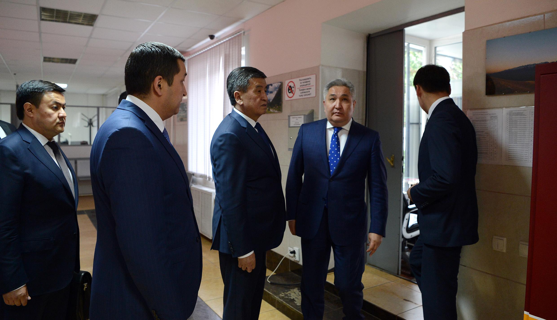 © Пресс-служба президента КР.