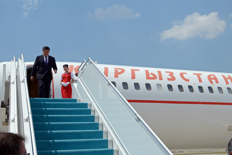 Жээнбеков самолет борт №1