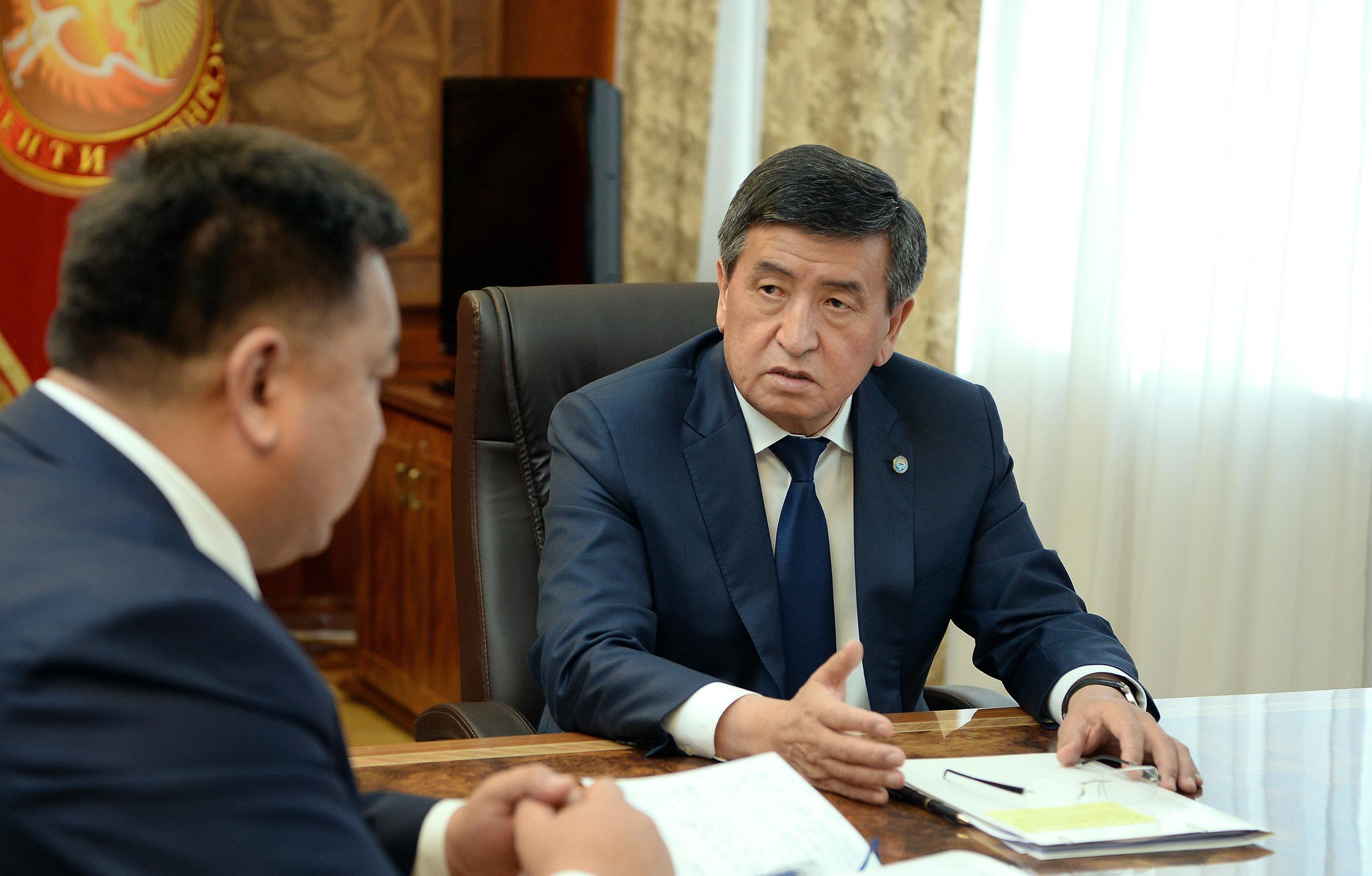 Жээнбеков Нурбек Мурашев