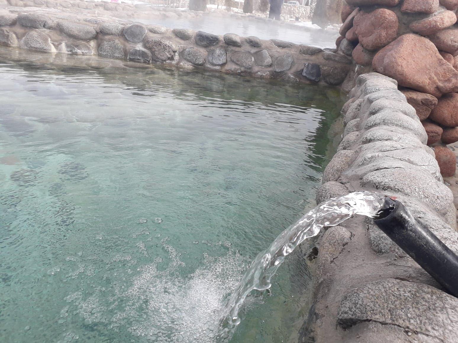 радоновый источник, вода