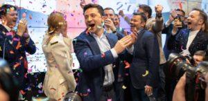 Владимир Зеленский победа